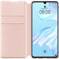 Huawei Original Wallet Pouzdro Pink pro P30  - Pouzdro na mobilní telefon