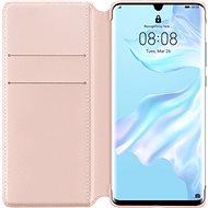 Huawei Original Wallet Pouzdro Pink pro P30 Pro  - Pouzdro na mobilní telefon