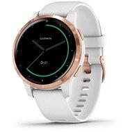 Chytré hodinky Garmin Vívoactive 4S RoseGold White - Chytré hodinky