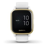 Garmin Venu Sq LightGold/White Band - Chytré hodinky