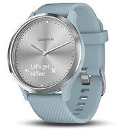 Garmin vívomove HR Sport Silver Seafoam (velikost S/M) - Chytré hodinky