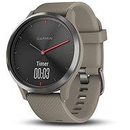 Garmin vívomove HR Sport Black Sandstone - Chytré hodinky