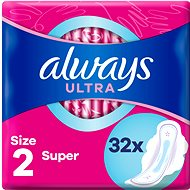 ALWAYS Ultra Super Plus 32 ks - Menstruační vložky