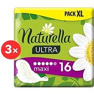 NATURELLA Ultra Maxi 3× 16 ks - Menstruační vložky
