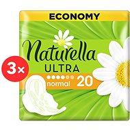 NATURELLA Ultra Camomile 3× 20 ks - Menstruační vložky