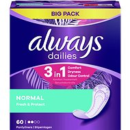 ALWAYS Dailies Fresh & Protect Normal Intimky 60 ks - Slipové vložky