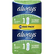 ALWAYS Ultra Standard Duo pack 24 ks - Menstruační vložky