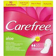 CAREFREE Aloe 58 ks - Slipové vložky