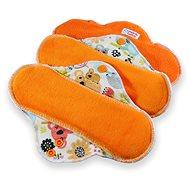 PETIT LULU Koaly Standard (fleece) 3 ks - Eko menstruační vložky
