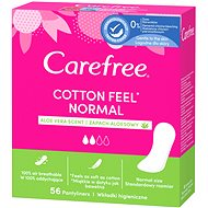 CAREFREE Cotton Aloe 56 ks - Slipové vložky