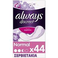 ALWAYS Discreet Liner Normal 44 ks - Inkontinenční vložky