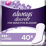 ALWAYS Discreet Liner Long 40 pcs - Incontinence Pads