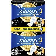 ALWAYS Ultra Extra Night 10 ks - Menstruační vložky