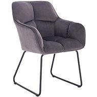 HAWAJ CL-18019-2 tmavě šedá - Konferenční židle