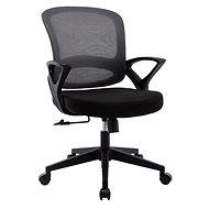 HAWAJ C3211B černo-černá - Kancelářská židle