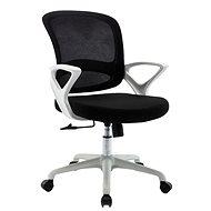 HAWAJ C3211B černo-bílá - Kancelářská židle