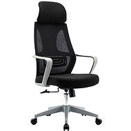 HAWAJ C9011A černo-šedá - Kancelářská židle