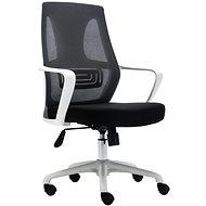 HAWAJ C9011B černo-bílá - Kancelářská židle