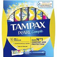 TAMPAX Pearl Compak Regular 16 ks - Tampony