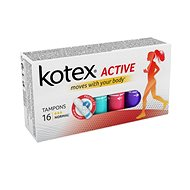 KOTEX Tampons Active 16 Normal - Tampony