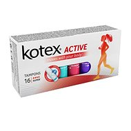 KOTEX Tampons Active 16 Super - Tampony