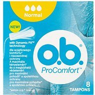 O.B. ProComfort Normal Tampons  8 ks - Tampony