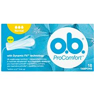 O.B. ProComfort Normal Tampons  16 ks - Tampony