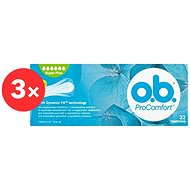 O.B. ProComfort Super Plus Tampons (32 ks) 2+1 - Tampony