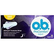 O.B. ProComfort Night Normal Tampons 16 ks