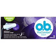O.B. ProComfort Night Super Plus Comfort 16 ks - Tampony
