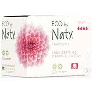 NATY ECO Super Plus 15 ks - Tampony