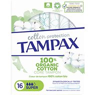 TAMPAX Cotton Protection Super 16 ks - Tampony