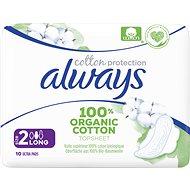 ALWAYS Cotton Protection Ultra Long 10 ks - Menstruační vložky