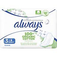 ALWAYS Cotton Protection Ultra Night 9 ks - Menstruační vložky