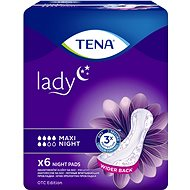 TENA Lady Maxi Night 6 pcs - Incontinence Pads