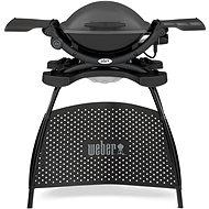 Weber Q 1400 Stand elektrický gril, Dark Grey - Elektrický gril