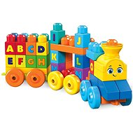Mega Bloks Musical Toy Train with Letters - Building Kit