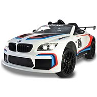 Jamara Ride-on BMW M6 GT3 weiß - Dětské elektrické auto