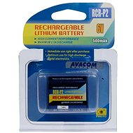 Avacom za CR-P2 nab. lithium 6V 500mAh černá - Baterie pro fotoaparát