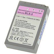 AVACOM za Olympus BLS-5 Li-ion 7.2V 1150mAh 8.3Wh - Náhradní baterie
