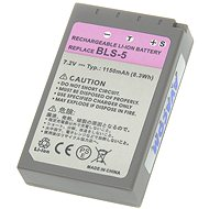 AVACOM za Olympus BLS-5 Li-ion 7.2V 1150mAh 8.3Wh - Baterie pro notebook