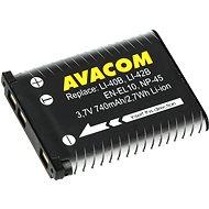 Avacom za Olympus Li-40B, Li-42B Li-ion 3.7V 740mAh 2.7Wh AVA - Baterie pro fotoaparát