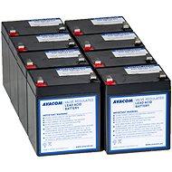 AVACOM náhrada pro RBC43 - baterie pro UPS (8ks) - Nabíjecí baterie