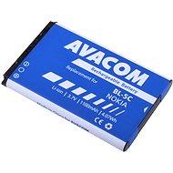 AVACOM za Nokia 6230, N70, Li-ion 3.7V 1100mAh (náhrada BL-5C) - Náhradní baterie