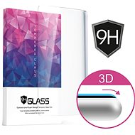 Icheckey 3D Curved Tempered Glass Screen Protector Black pro Samsung Galaxy S8+ - Ochranné sklo