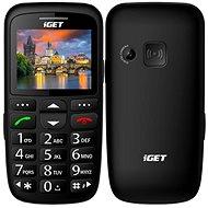 iGET Simple D7 černá - Mobilní telefon