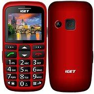 iGET Simple D7 červená - Mobilní telefon