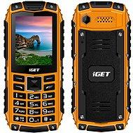 iGET Defender D10 oranžová  - Mobilní telefon