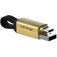 inCharge nabíjecí a datový kabel 6 v 1, zlatý - Datový kabel