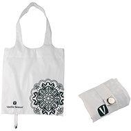 VS BATNA skládací nákupní taška bílá